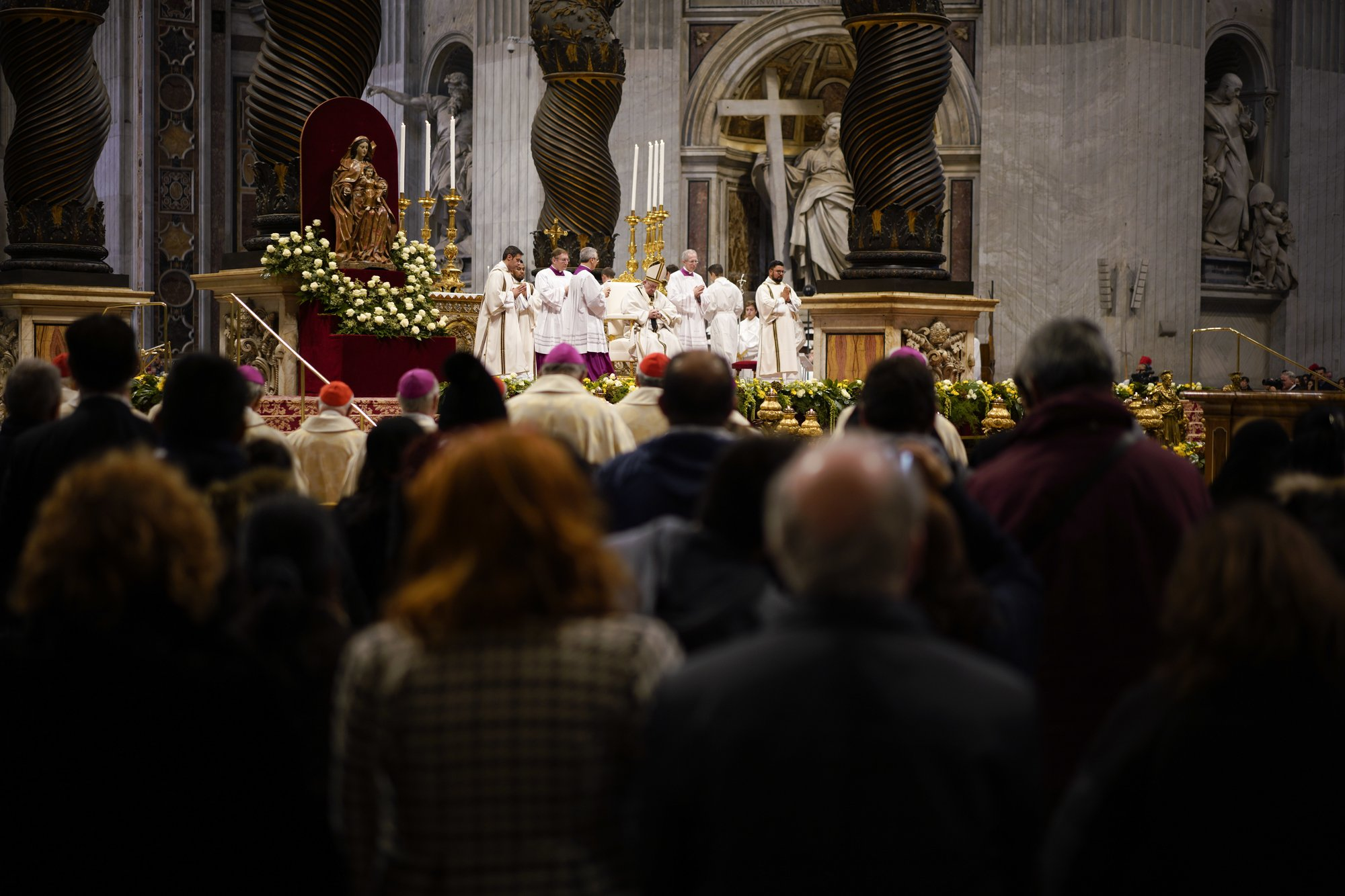 apnews.com - Pope: the din of 'ever more rich' drown out cries of poor