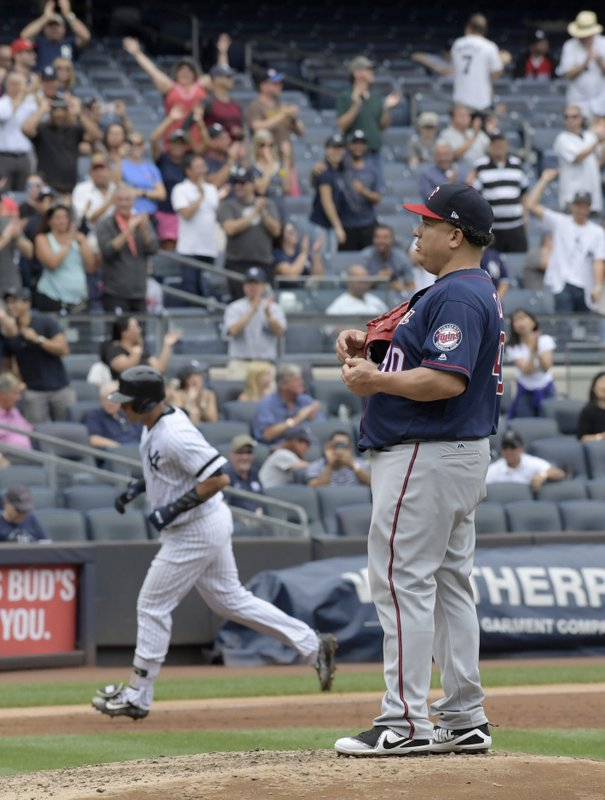 Bartolo Colon, Gary Sanchez