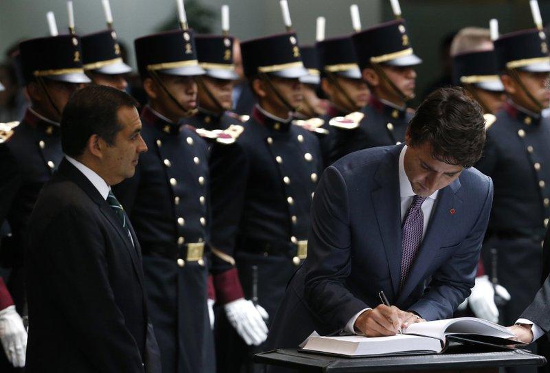 Ernesto Cordero, Justin Trudeau