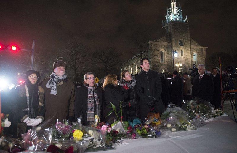 Jutin Trudeau, Sophie Gregoire, Philippe Couillard, Suzanne Pilote, Regis Labeaume, Louise Vien