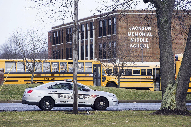 Seventh-grader who shot himself in school bathroom dies