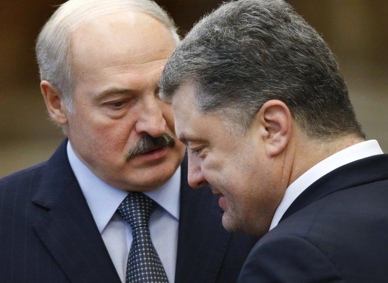 Petro Poroshenko, Alexander Lukashenko