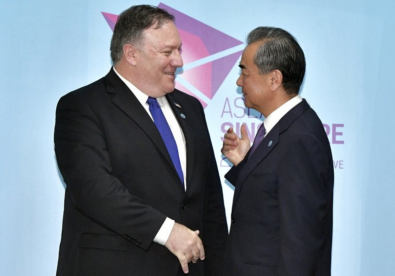 Mike Pompeo, Wang Yi