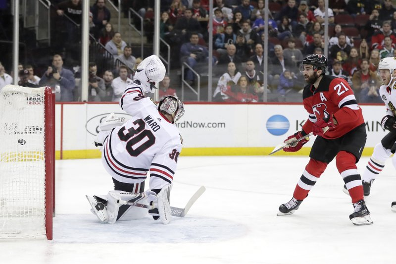 competitive price bdbcd 8e044 Palmieri, Coleman score 2, Devils tally 8 beating Chicago