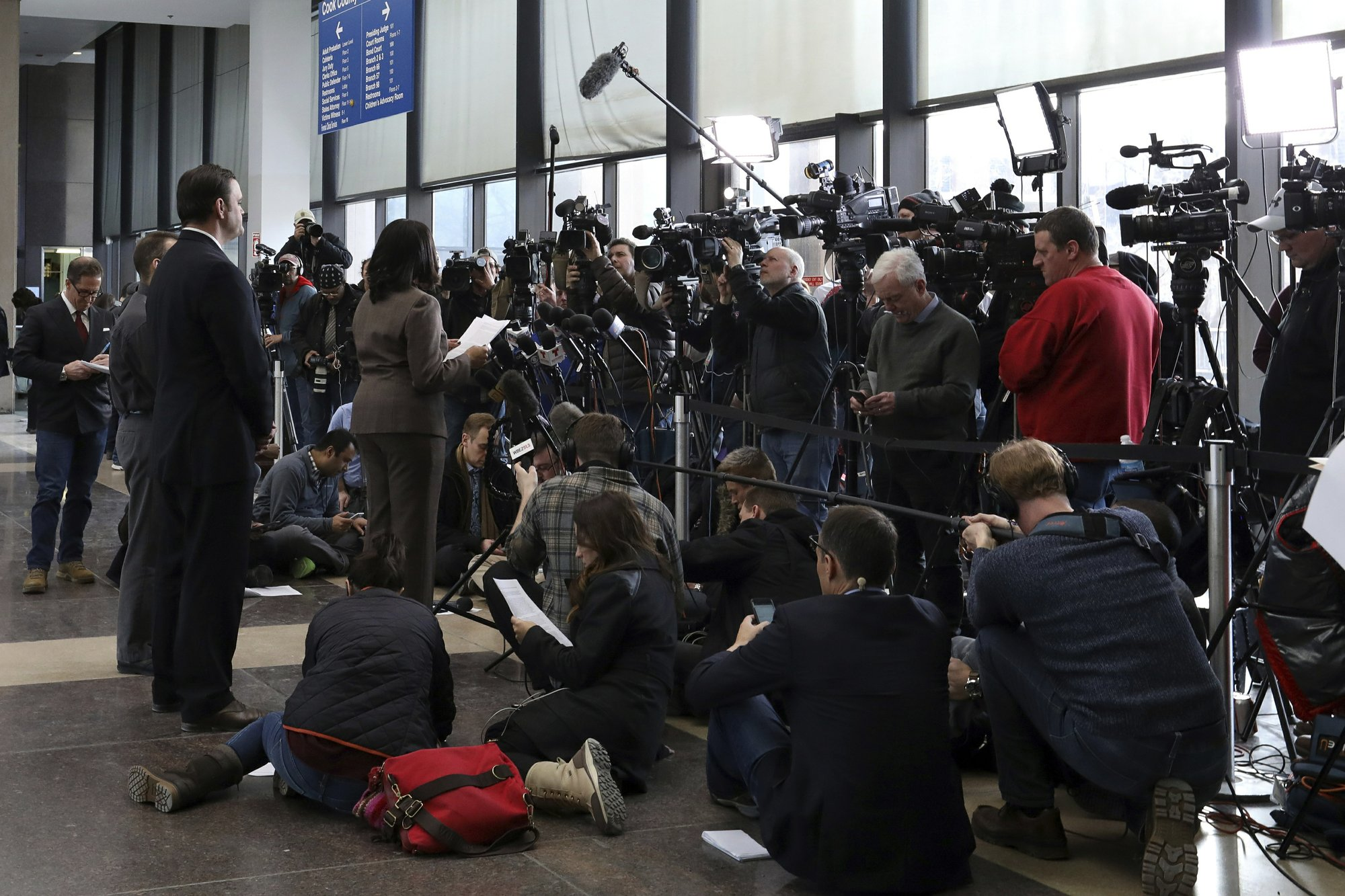 Social media provides fuel for Jussie Smollett story
