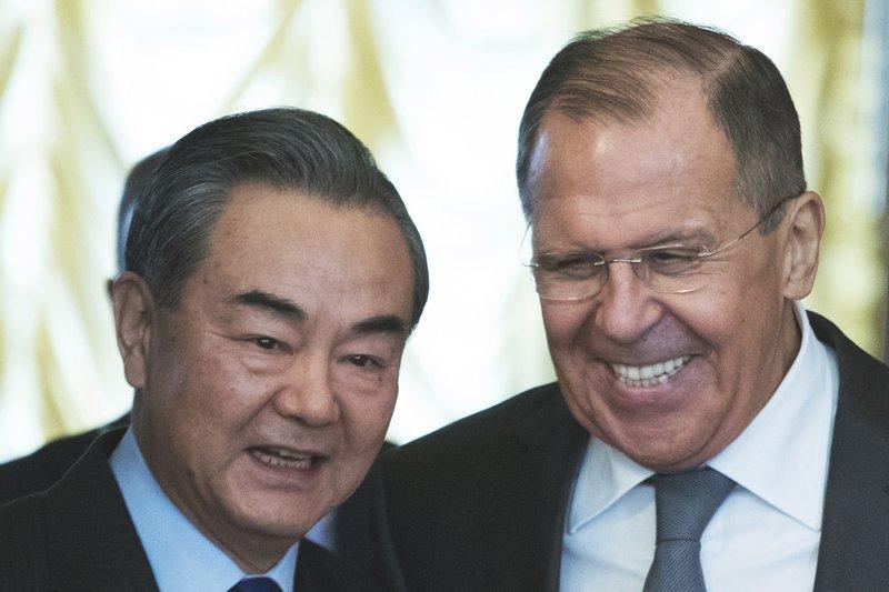 Sergey Lavrov, Wei Fenghe