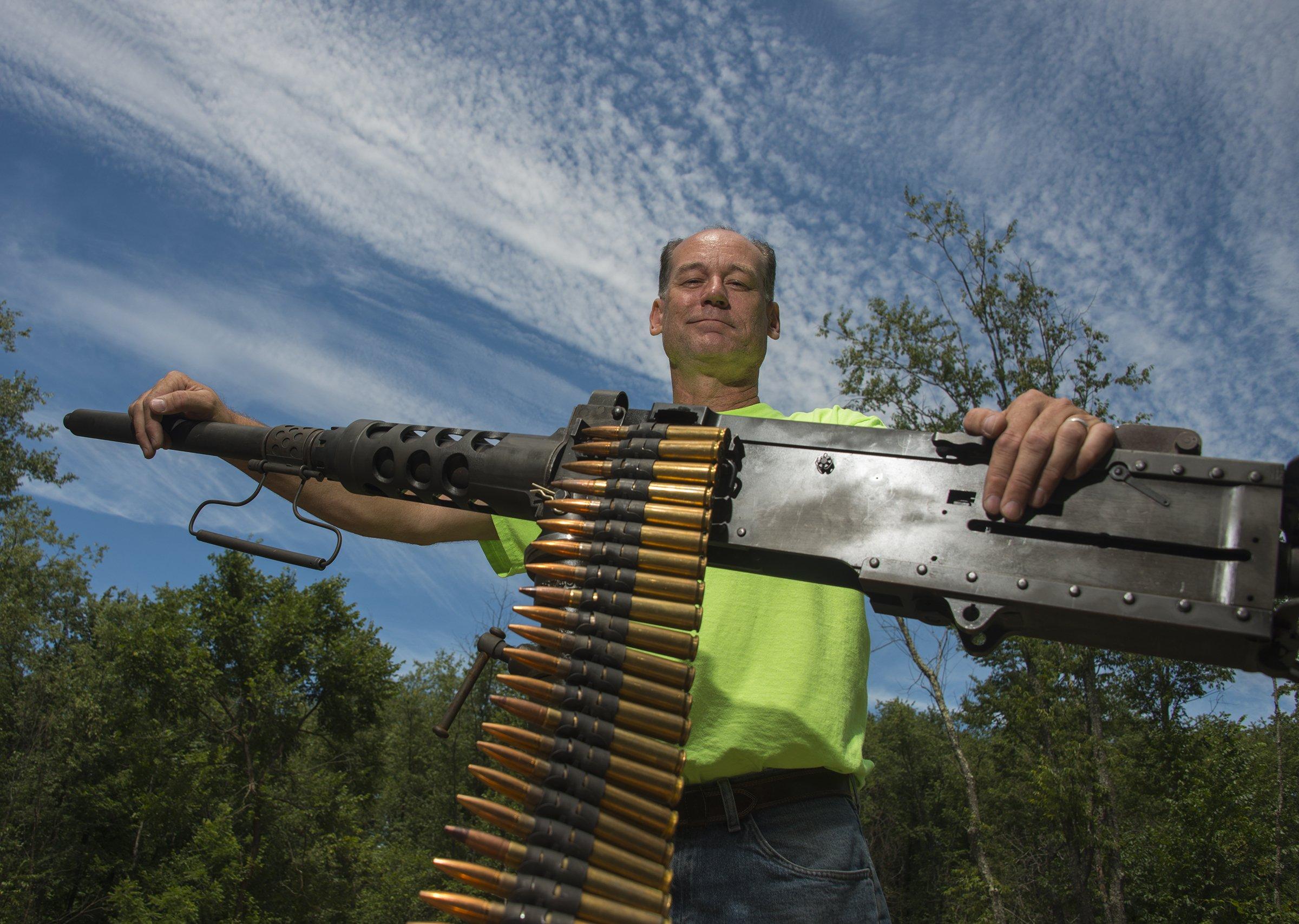 Range provides 'thrill' of renting machine guns