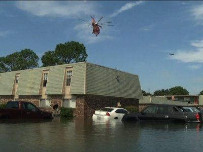 Dramatic Airlift Rescues in Flooded Port Arthur