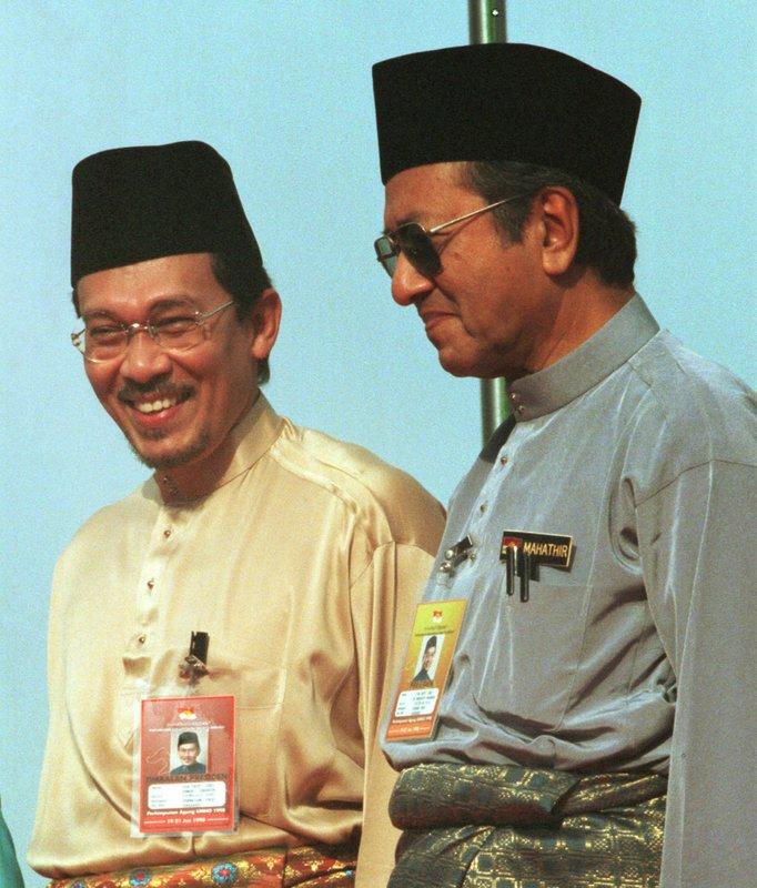 Anwar Ibrahim, Mahathir Mohamad