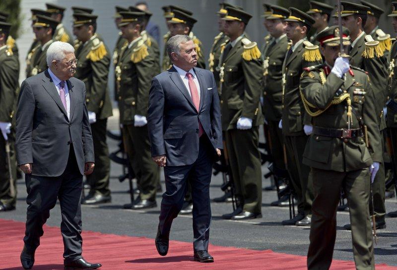 Abdullah II, Mahmoud Abbas