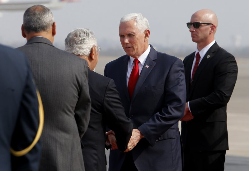 Mike Pence, Javier Pique