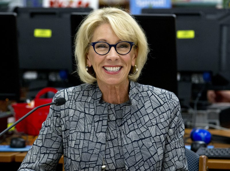 Betsy Devos Is Wrong About >> Polarizing But Enduring Cabinet Member Education Head Devos