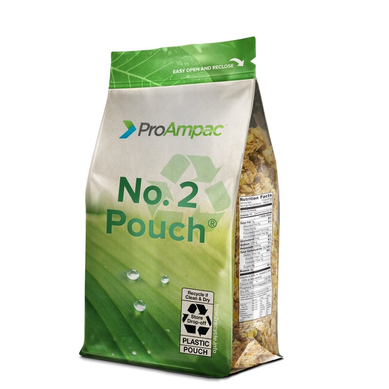 ProAmpac's Fully Recyclable QuadFlex Pouch Gets an Innovative Green Thumbs Up