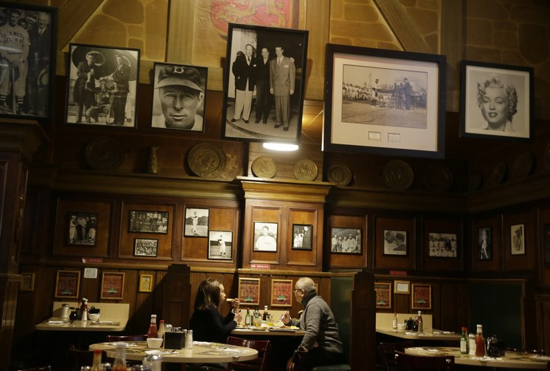 13 2017 Customers Have Breakfast At Lefty ODouls Restaurant And Lounge In San Francisco The Historic Baseball Memorabilia Piano Bar Beloved By