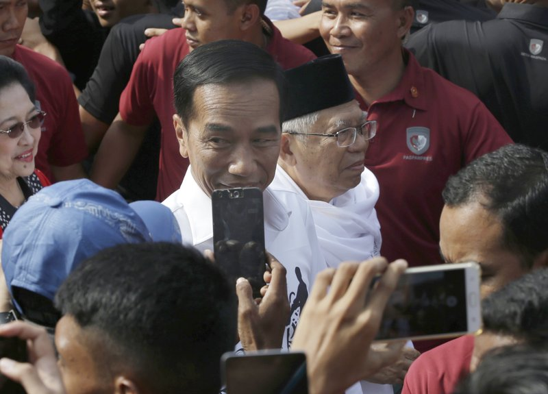 "Ma'ruf Amin, Joko ""Jokowi"" Widodo"