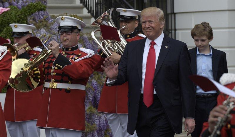 Donald Trump, Barron Trump