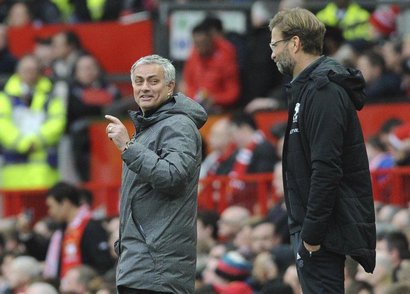 Juergen Klopp, Jose Mourinho