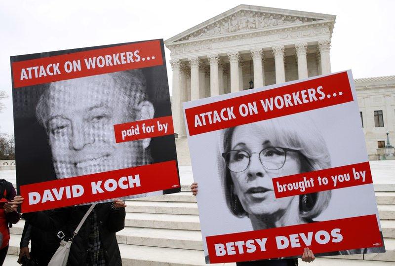 David Koch, Betsy DeVos