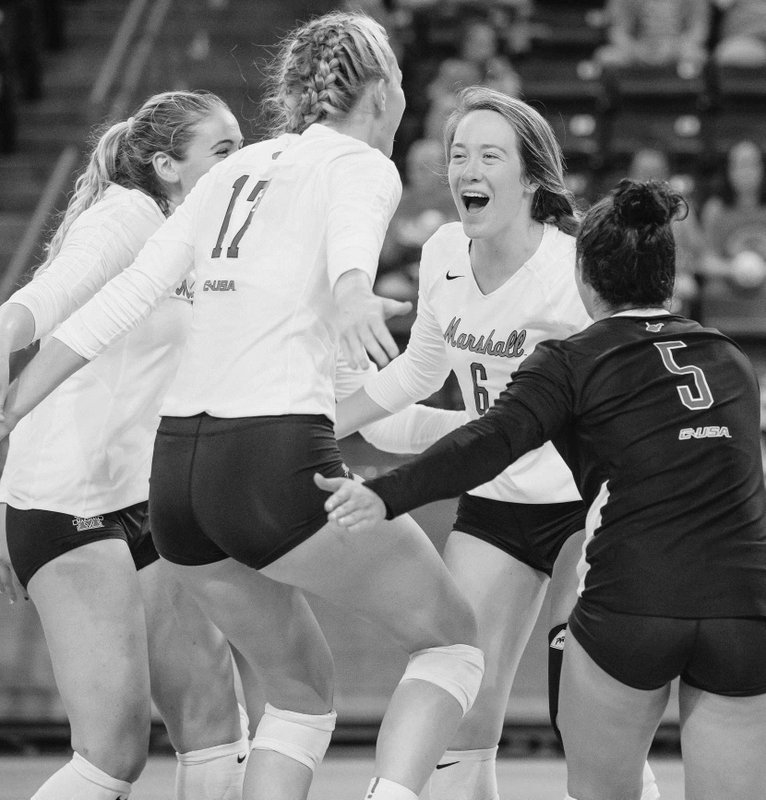 Herd volleyball gets win over Bobcats