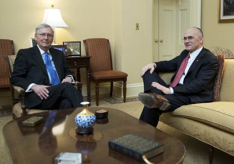 Mitch McConnell, Andy Puzder