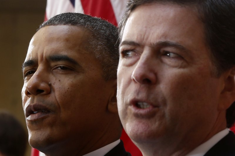 Barack Obama, James Comey
