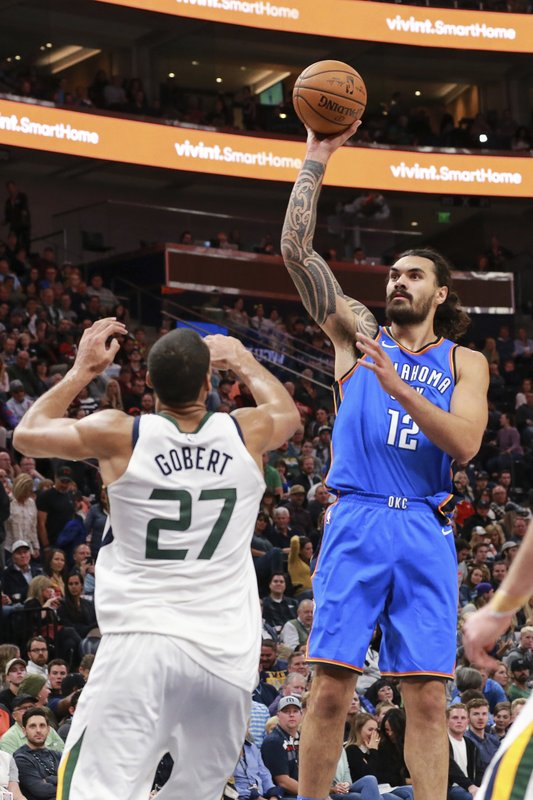 Rudy Gobert, Steven Adams