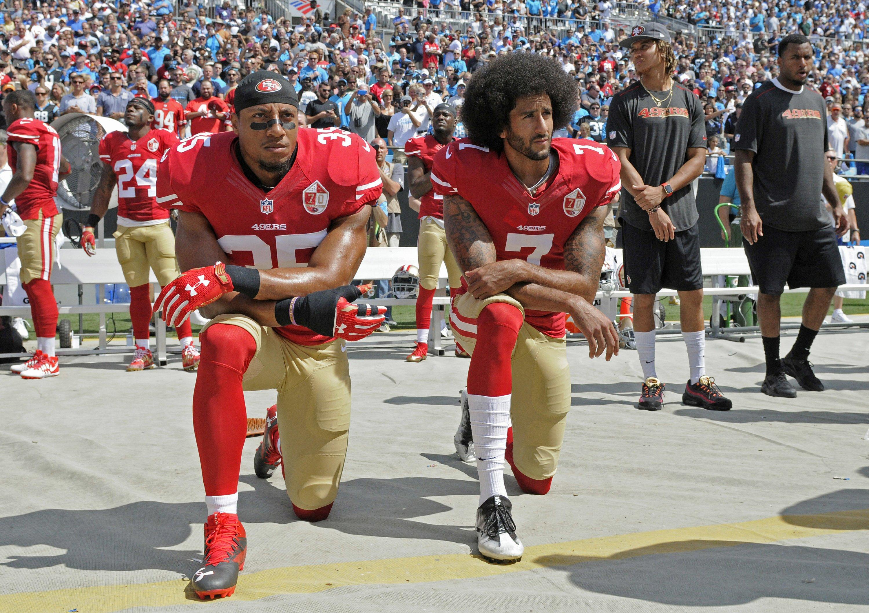 Kaepernick, Eric Reid settle collusion grievances with NFL