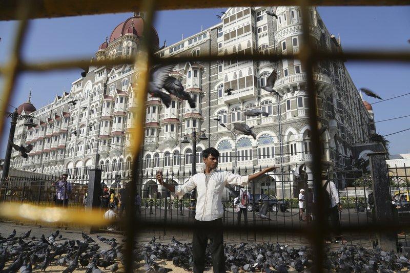 Attack on taj hotel