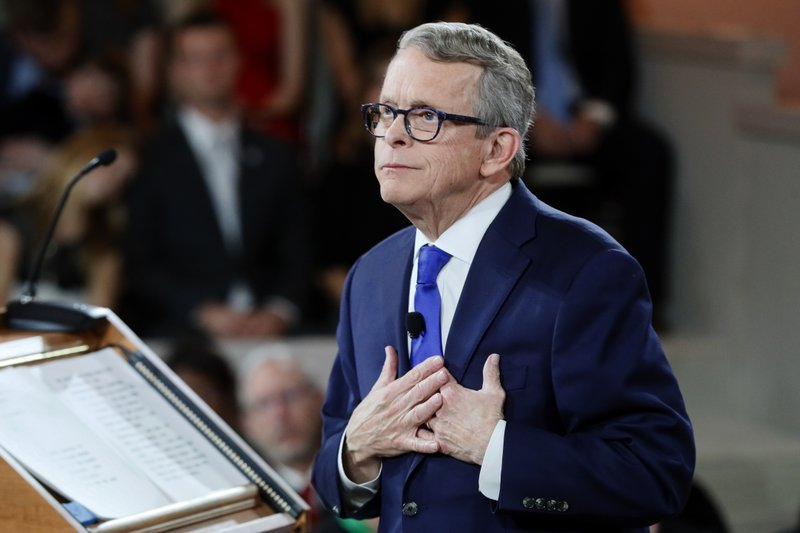 The Latest Democratic Lawmakers See Hope In Dewine Speech