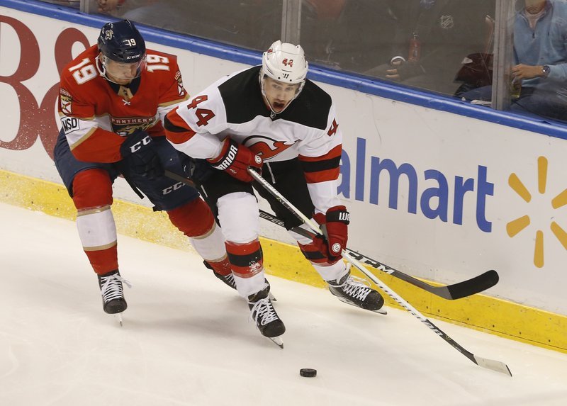 Miles Wood, Mike Matheson