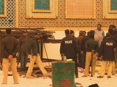 Raw: Islamic State Bomb Kills Dozens in Pakistan