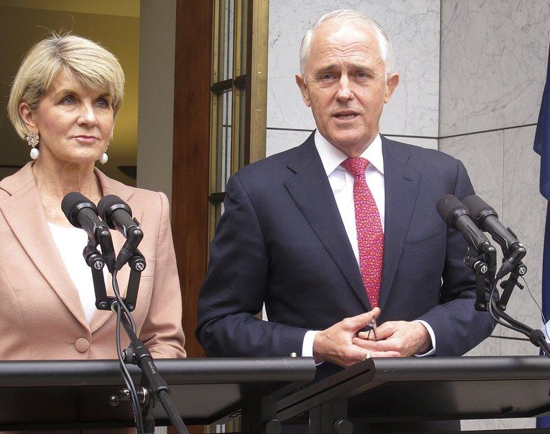 Malcolm Turnbull, Julie Bishop