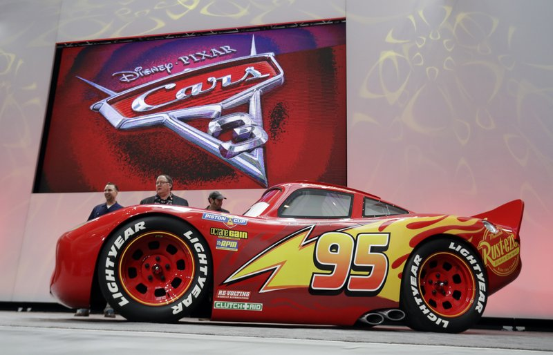 Young New Car Jackson Storm Tries To Dominate In Cars 3