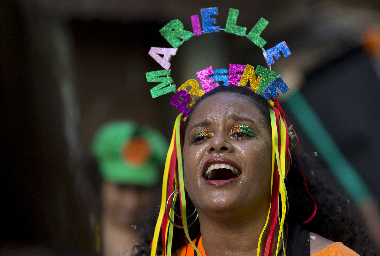 Slain black councilwoman remembered during Brazil Carnival