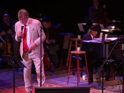 At 75 Garrison Keillor refuses to slow down and sets out on a 28-show 'Love and Comedy' tour