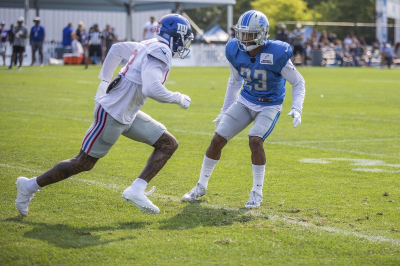 Darius Slay and Odell Beckham Jr.