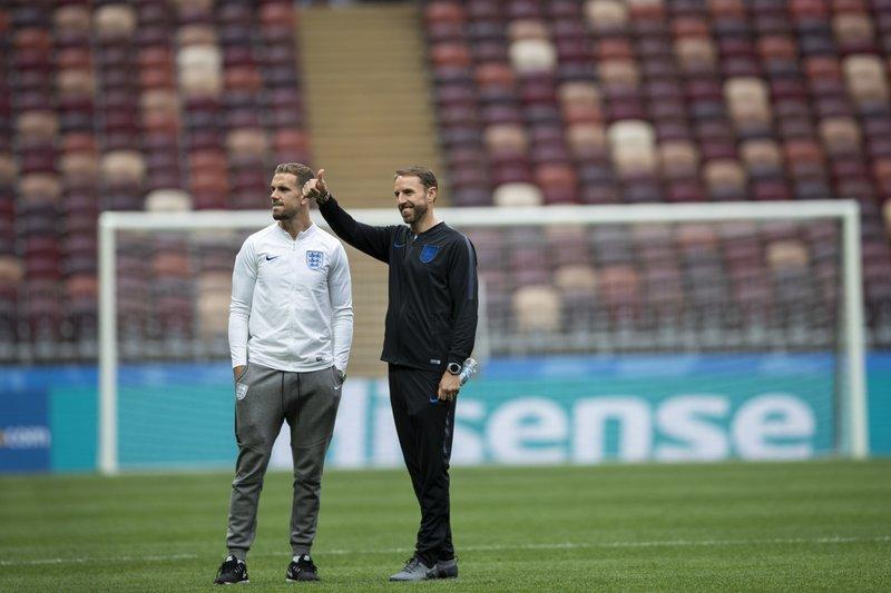 Gareth Southgate, Jordan Henderson