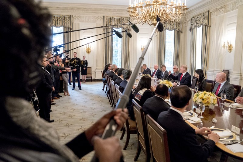 Donald Trump, H.R. McMaster, Nikki Haley, Rex Tillerson
