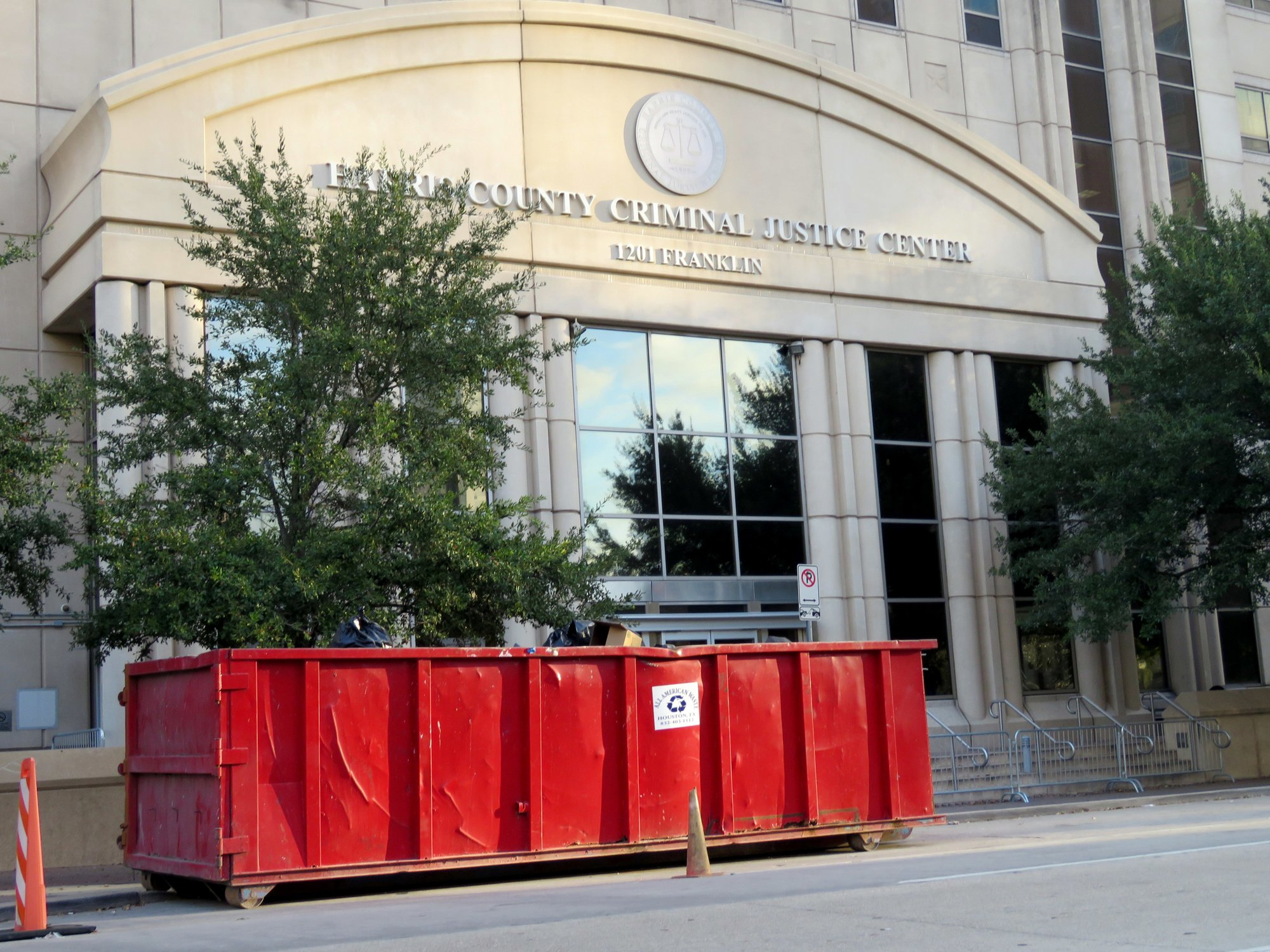 Harvey-damaged courthouse in Houston to reopen in early June