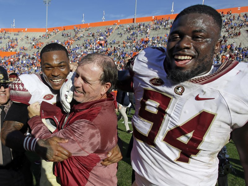 Derwin James, Walvenski Aime, Jimbo Fisher