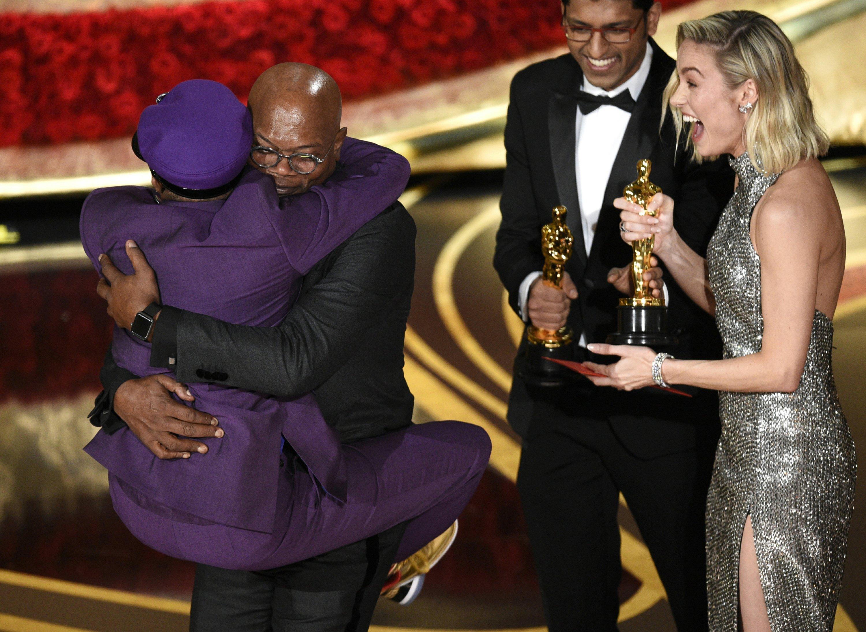Top Oscar moments: Buoyant Spike Lee, daffy Olivia Colman