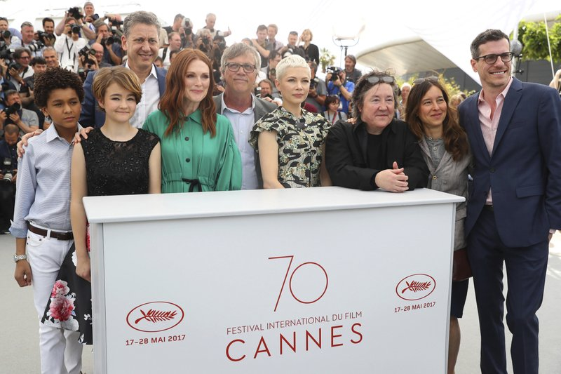 Jaden Michael, Millicent Simmonds, John Sloss, Todd Haynes, Michelle Williams, Christine Vachon, Pamela Koffler, Brian Selznick