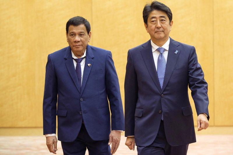 Rodrigo Duterte, Shinzo Abe