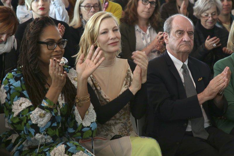 Ava DuVernay, Cate Blanchett, Pierre Lescure