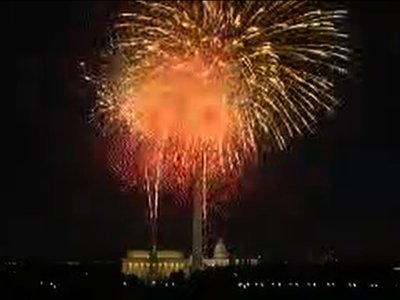 D.C. Celebrates the Fourth With Fireworks
