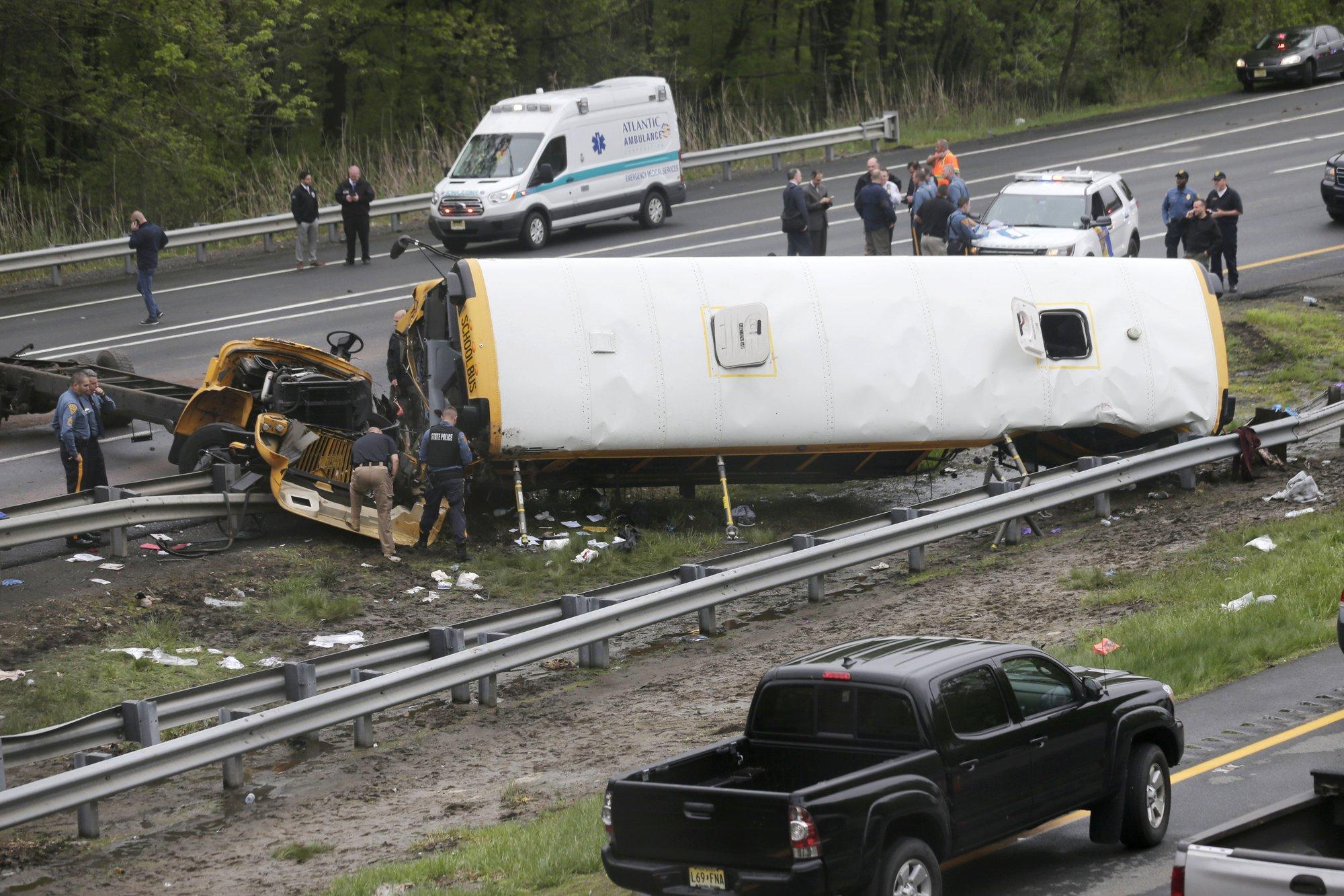 Trucking company owner 'saddened' by fatal school bus crash