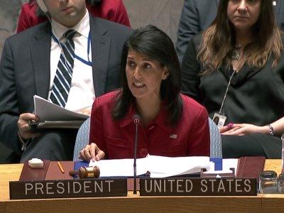Haley: US Airstrike Fully Justified