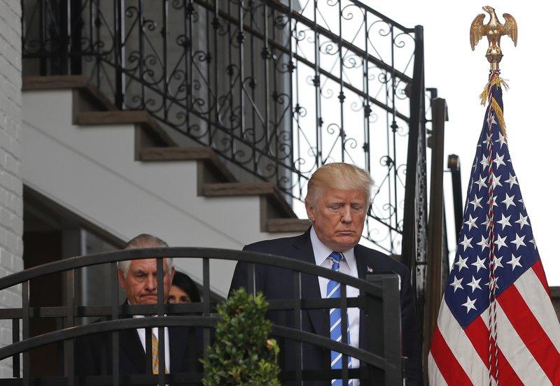 Donald Trump,Rex Tillerson,Nikki Haley
