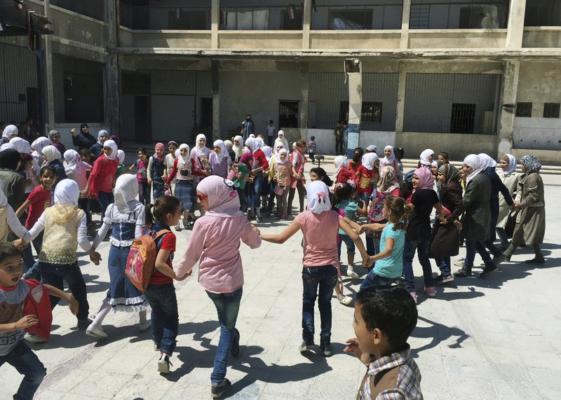 Back To School But Not For All Of Syria S Children