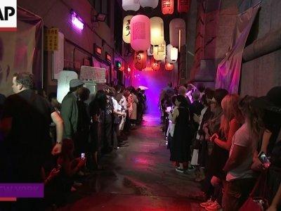 Raf Simons inspired by 'Blade Runner'